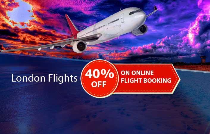 london flights 40% off