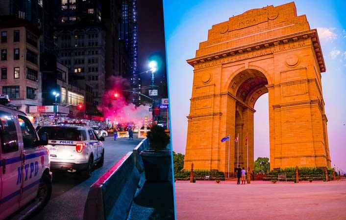 cheap flights from New York to Delhi