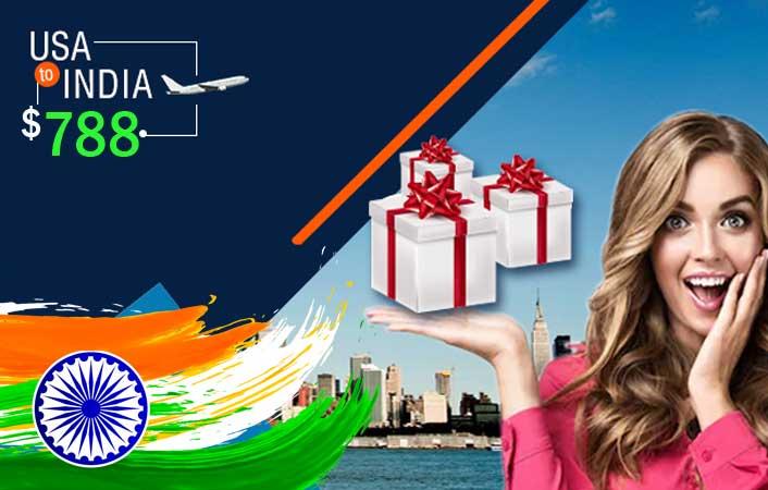 usa to india international flight deals