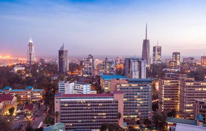 New York to Nairobi