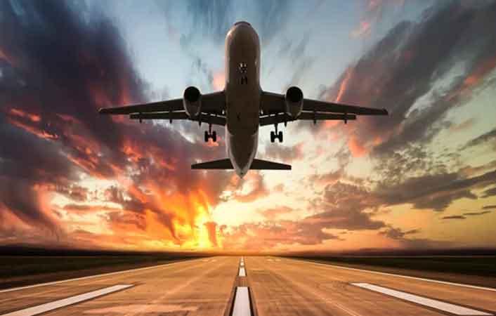 flight routes in America